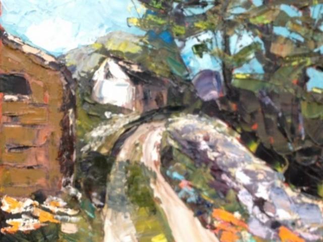 Clover Farm - Oil on Canvas